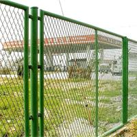 辽宁厂区菱形金属防护网美观大方网格均匀