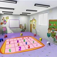 儿童个性化订制卡通安全防滑塑胶地板