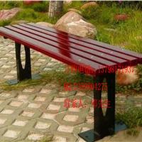 供应园林休闲椅,铸铁脚实木椅厂家批发