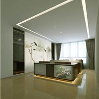 供应郑州简约办公室设计装修实景拍摄效果图