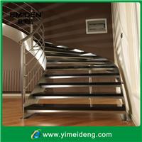 供应供应新款YMD-0067室内旋转钢木楼梯
