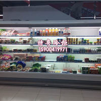 上海专业定制货价式水果保鲜冷柜的厂家