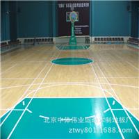 供应篮球场专用地板  体育地板