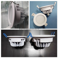 供应防水LED筒灯外壳配件IP65防水