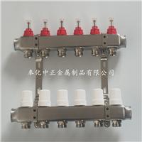 供应家装精品地暖分水器