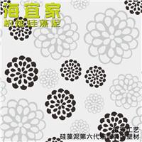 海宜家硅藻泥 中式 刻绘工艺 除醛 新型壁材