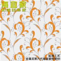 海宜家硅藻泥 欧式 印花工艺 抗菌 改善空气
