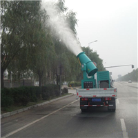 高速公路两旁绿化带除尘用车载式降尘喷雾机