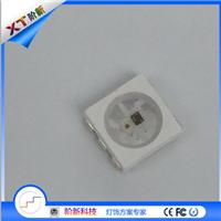 供应XT1506 六角支架灯珠 6812内置ic