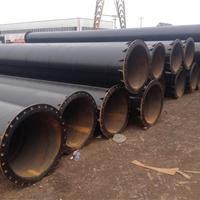 排污水焊法兰防腐钢管/活套法兰防腐螺旋管