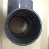 锐骏成批发110等径三通|PVC给水管件|