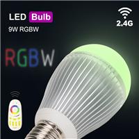 9W节能球泡无线遥控冷锻铝灯身