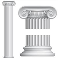 罗马柱花瓶柱