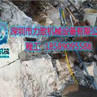 玉石矿无声开采设备取代爆破开采玉石矿设备