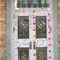 佛山吉南不銹鋼門廠生產不銹鋼子母對開門