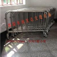 供应深圳铁马 不锈钢围栏 不锈钢铁马