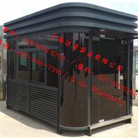 小区钢结构保安亭,移动镀锌板售货亭