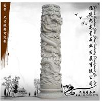 石雕文化柱 广场雕塑文化柱 现代艺术龙柱