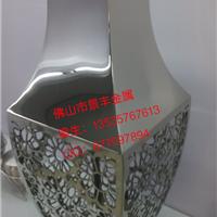 供应不锈钢花瓶步行街花箱不锈钢花器花桶