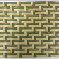 供应***酒店会所装饰工程竹编生态装饰材料