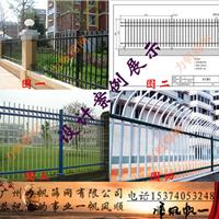 深圳透景围墙护栏,锌钢围栏厂家订制