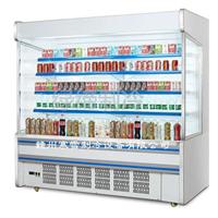供应水果柜,展示柜,保鲜柜,老果农风幕柜