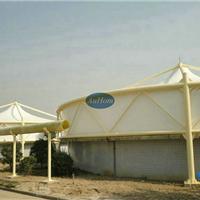 膜结构工程污水加盖|臭气收集密封罩|选奥宏