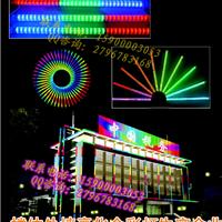 轮廓灯KTV楼体外墙亮化数码灯,七彩护栏管