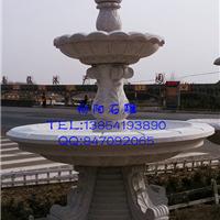 石雕喷泉|石材水钵|黄锈石喷泉|黄金麻喷泉