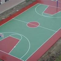 供应上海塑胶篮球场施工兴骏