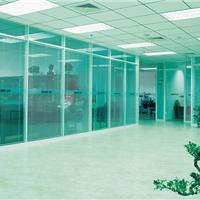 集安双层玻璃隔断