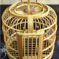 鸟笼工厂定做各种装饰景观竹制鸟笼,鸟笼灯