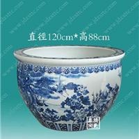 供应陶瓷大缸,手工青花瓷鱼缸