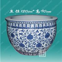 供应陶瓷大缸,青花大缸,手工陶瓷大缸