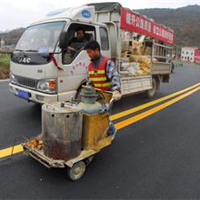 供应重庆道路热熔划线 小区工厂专业划线