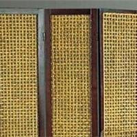 隔断厂家批发定做各种款式的竹藤装饰屏风