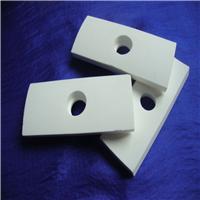 供应耐磨陶瓷氧化铝带孔可焊接衬板