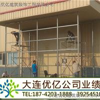 大连高新区饭店旅行304白钢玻璃门厂家-优亿