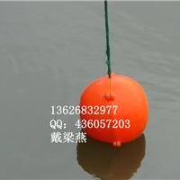 供应水上浮筒 PE浮筒一次成型防腐