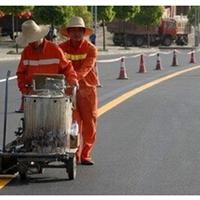 供应重庆专业划线公司 马路划线价格