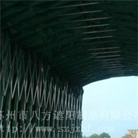 供应苏州仓储式推拉雨棚
