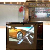 供应NPD成都凯德广场贴膜投影案例