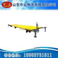 供应牵引式平板拖车 运输平板拖车