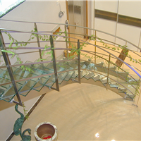 供应不锈钢楼梯扶手旋转楼梯黑钢古铜扶手