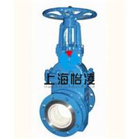供应PZ71TC耐磨陶瓷排渣阀|上海怡凌阀门