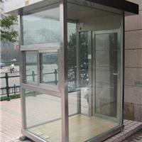 供应宁波玻璃岗亭