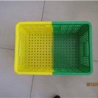 厂家直销双色塑料周转筐双色塑料周转箱