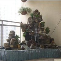 供应微型假山、家庭庭院喷泉、庭院雕塑