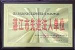 湛江市先进法人单位