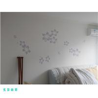 重庆蓝泥儿硅藻泥 卧室风格供应